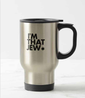 Shop - I'm That Jew Travel Coffee Mug