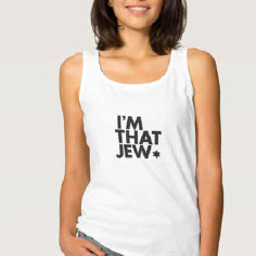 Shop - Tank tops galore at the Jewish store